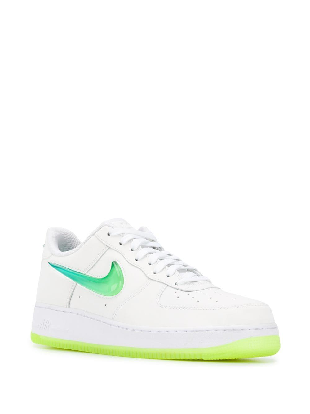 f86473d70dde7b Lyst - Nike Air Force 1 07 Premium Sneakers in White for Men - Save 7%