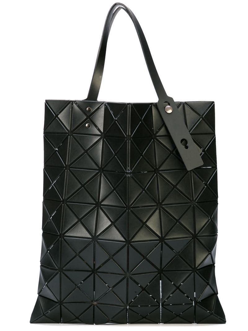 0c766bb1eba59 Bao Bao Issey Miyake. Women s Black Articulated Geometric Panel Tote Bag