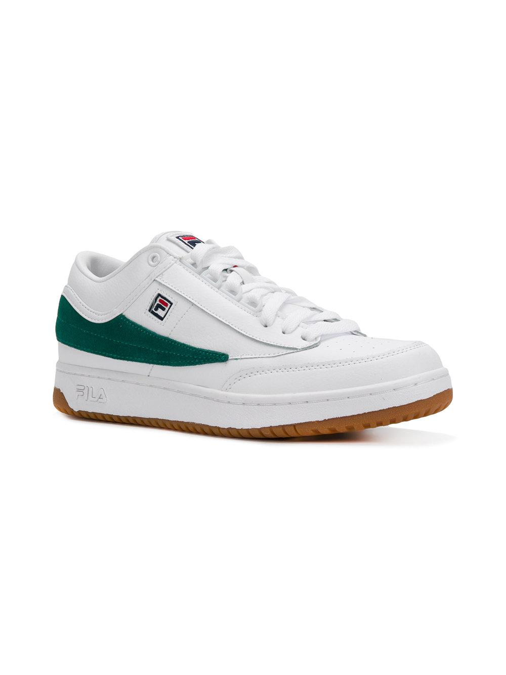 casual lace-up sneakers - White Fila Quality Free Shipping Low Price HMCHlQd