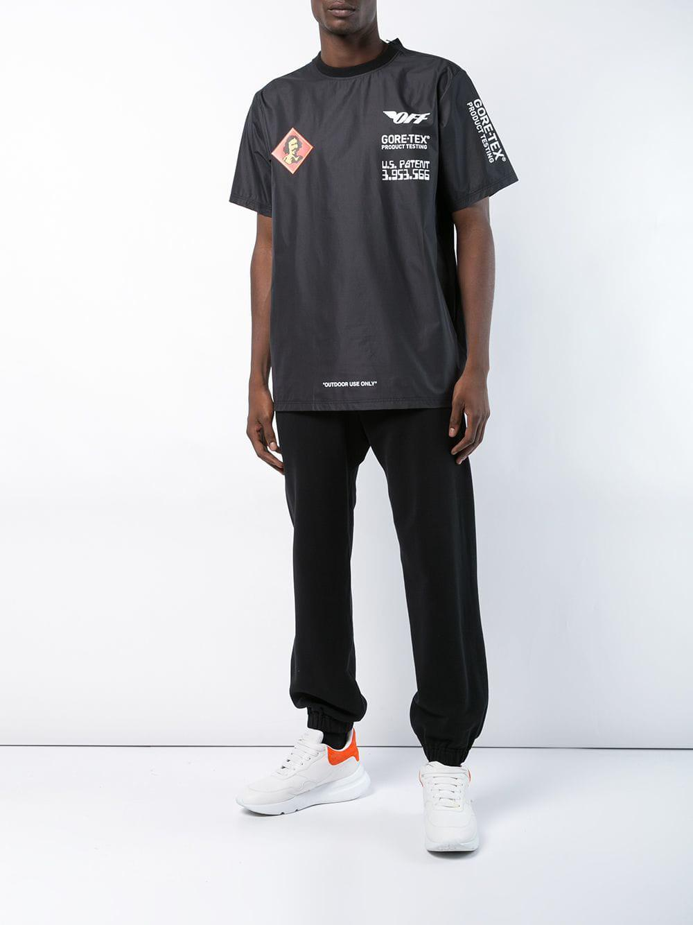 5e70721c4b8b Off-White c o Virgil Abloh Outdoor Use Only T-shirt in Black for Men - Save  36% - Lyst