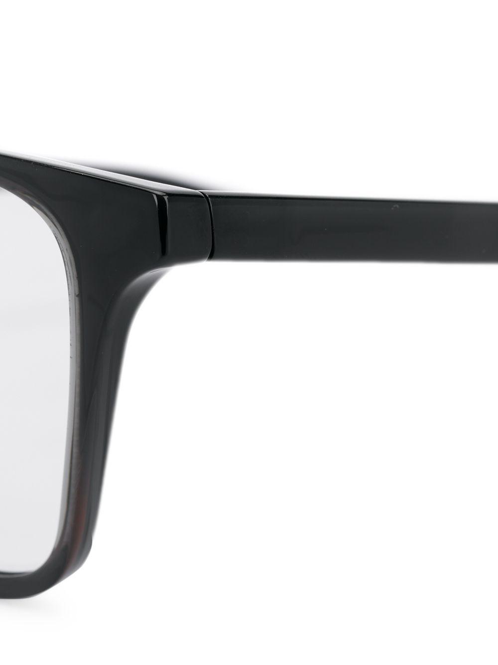 c95a93d9a4 Nike - Black Rectangular Optical Glasses - Lyst. View fullscreen
