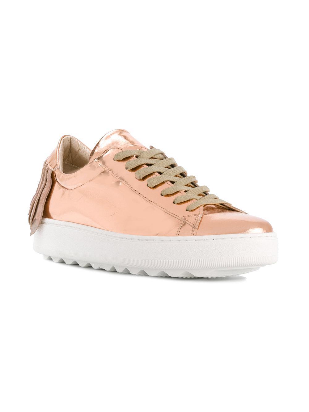 fringed sneakers - Pink & Purple Philippe Model wS4cP1uEk