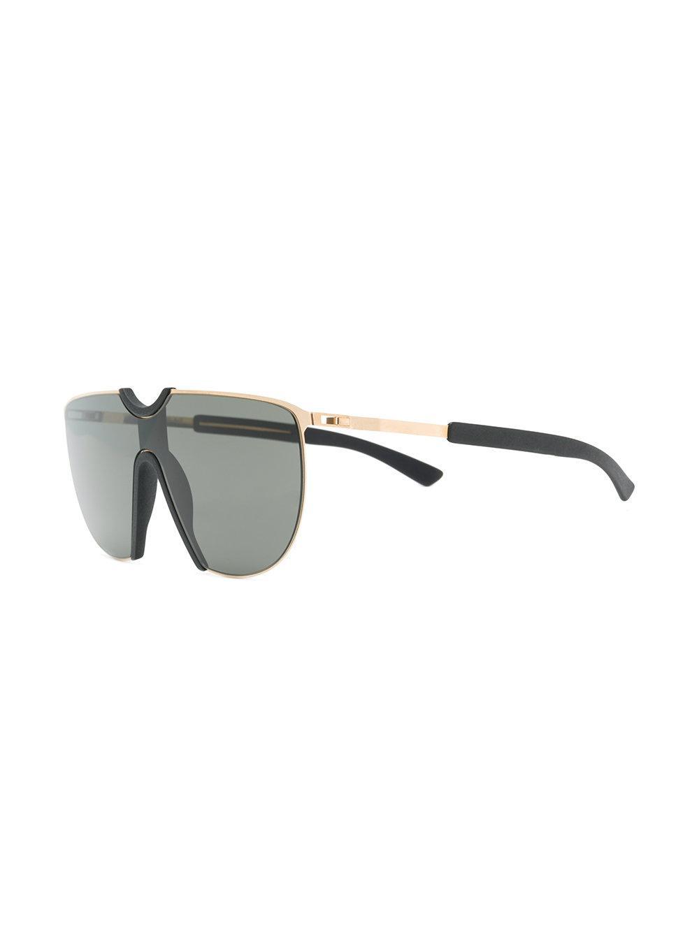 c58ea8c309860 Mykita Oversized Sunglasses in Black - Lyst