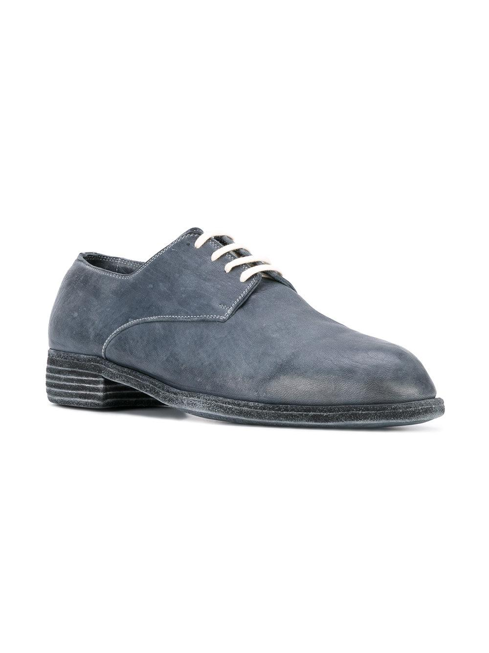 new product 53c6f 76456 guidi-Blue-Vintage-Ball-Derby-Shoes.jpeg