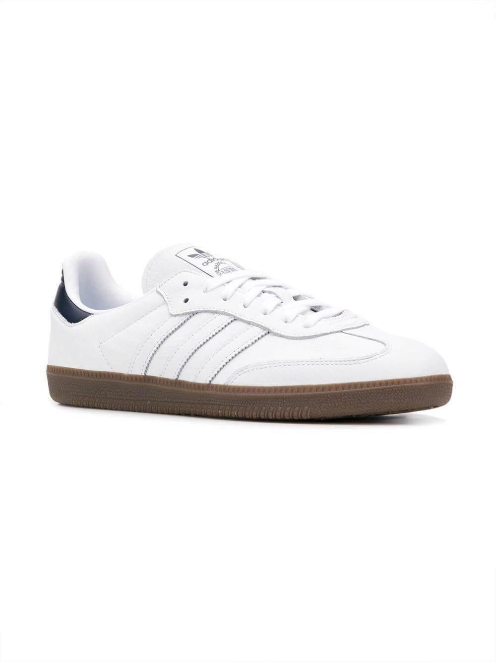 bc6c921e0a7 Adidas - White Samba Og Sneakers for Men - Lyst. View fullscreen