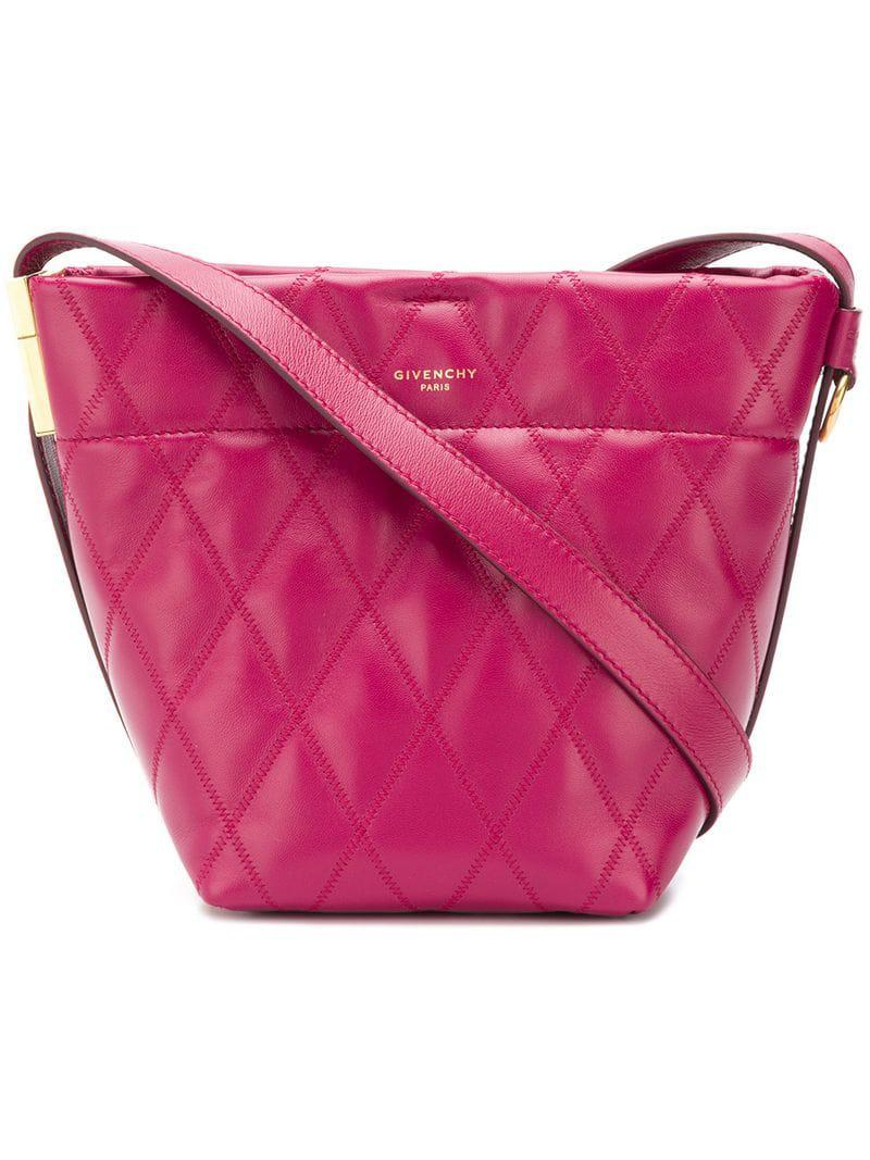 Givenchy Mini Gv Bucket Bag in Pink - Lyst d3eb6719df273