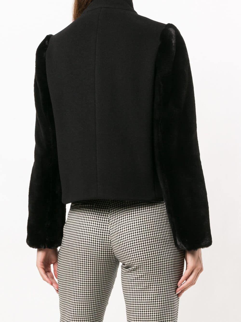 478d2a2cbdda Emporio Armani - Black Double Breasted Jacket - Lyst. View fullscreen