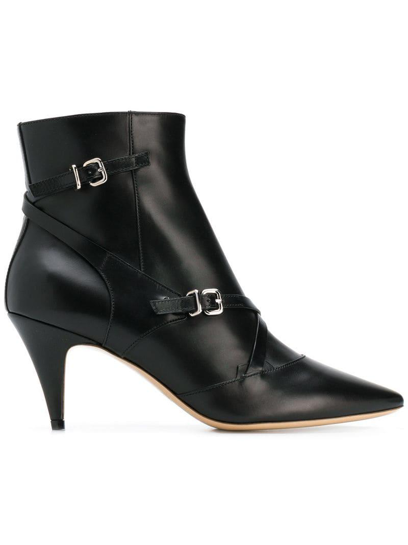 49f2451acc1 Tod's Multi-buckle Ankle Boots in Black - Save 40% - Lyst
