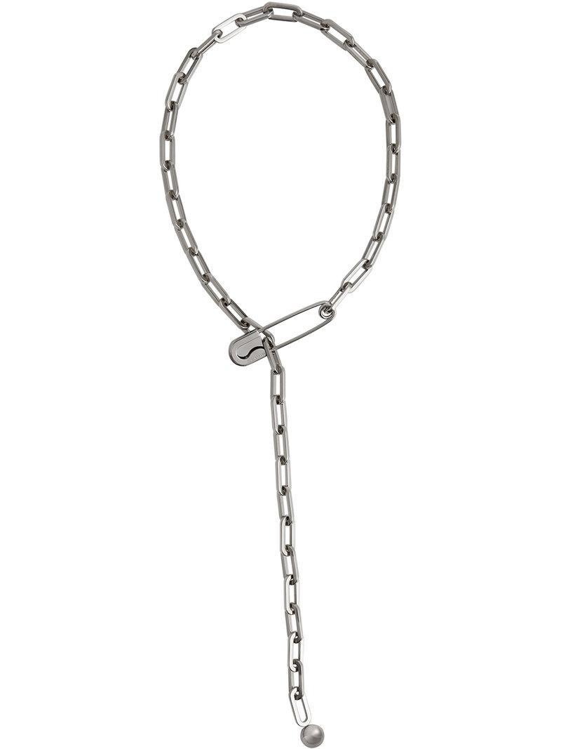 Burberry Brass Kilt Pin Key Charm - Metallic NFTKh