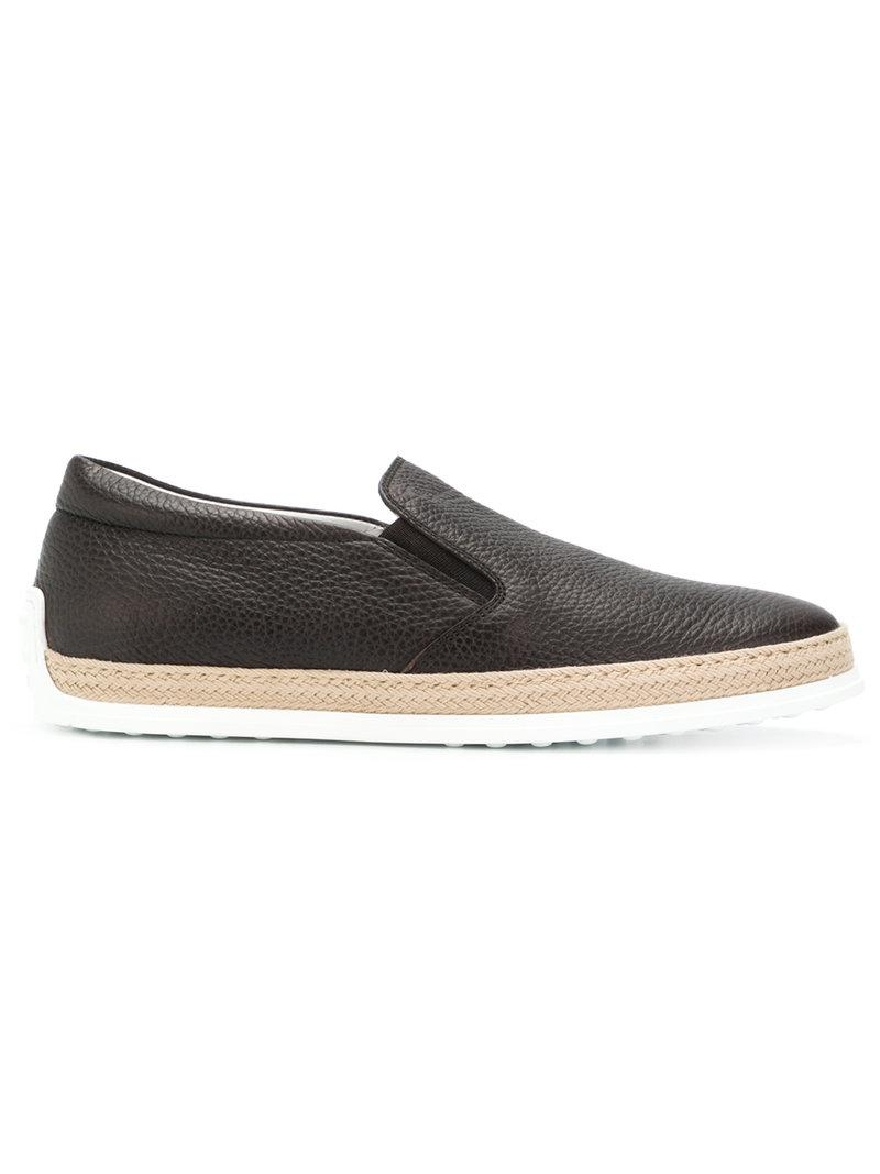 flat design loafers - Brown Tod's sbW9SS3u
