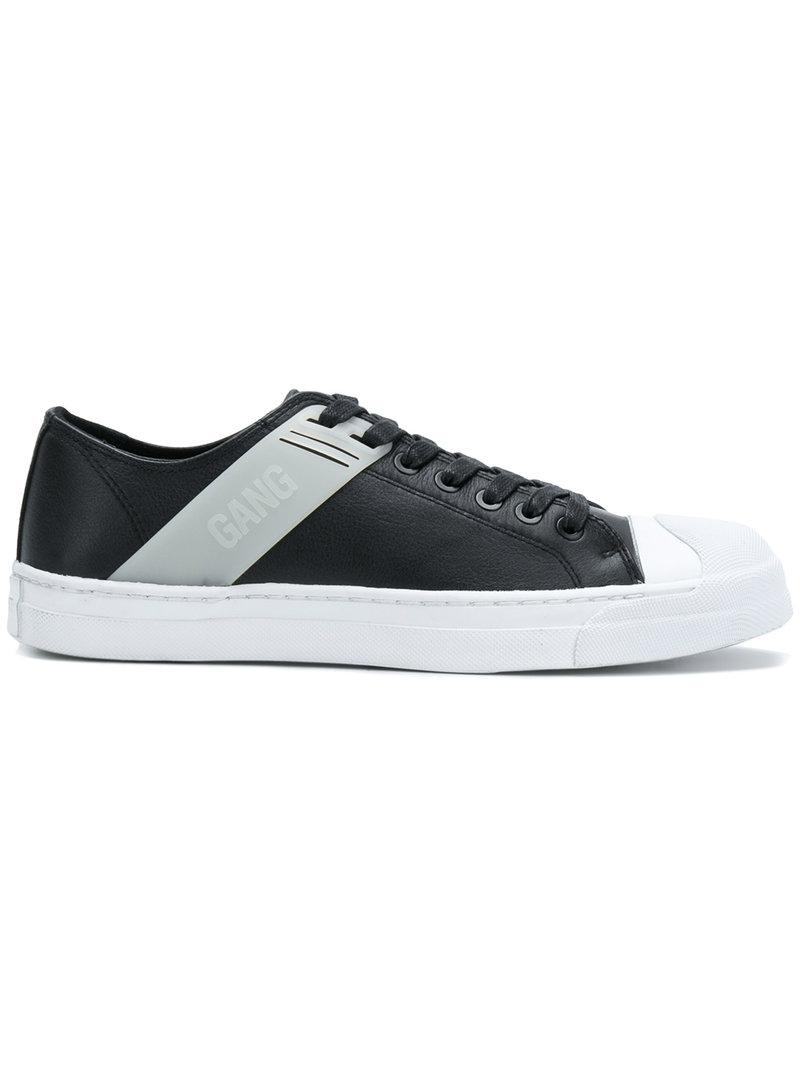 GANG TRAINER - Sneaker low - black