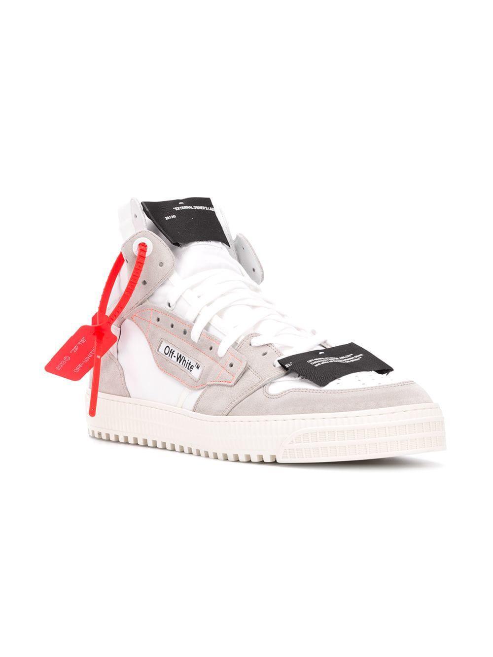 8db1d23da4323e Off-White c/o Virgil Abloh Off-court 3.0 Hi-top Sneakers in White for Men -  Save 5% - Lyst