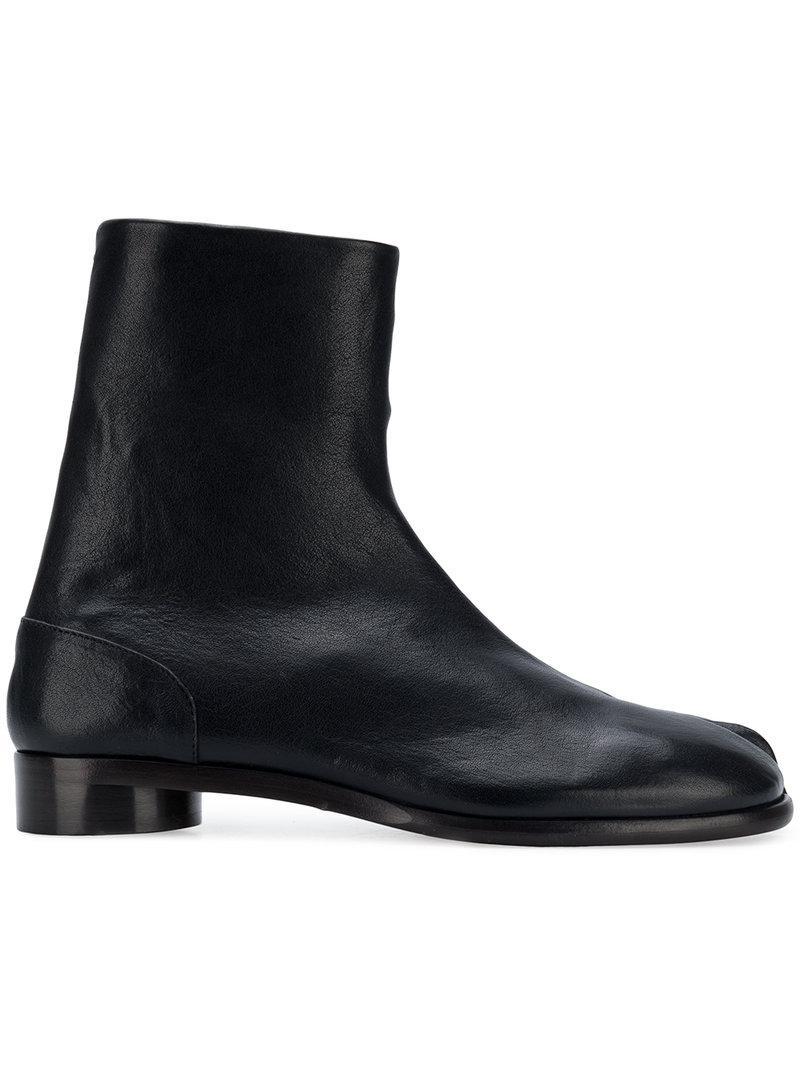 Maison Margiela Black Suede Deconstructed Chelsea Boots Livraison Gratuite Prix Le Plus Bas obtenir Vente De Nombreux Types De PROMOS Prix Pas Cher En Ligne X7Wjkj0