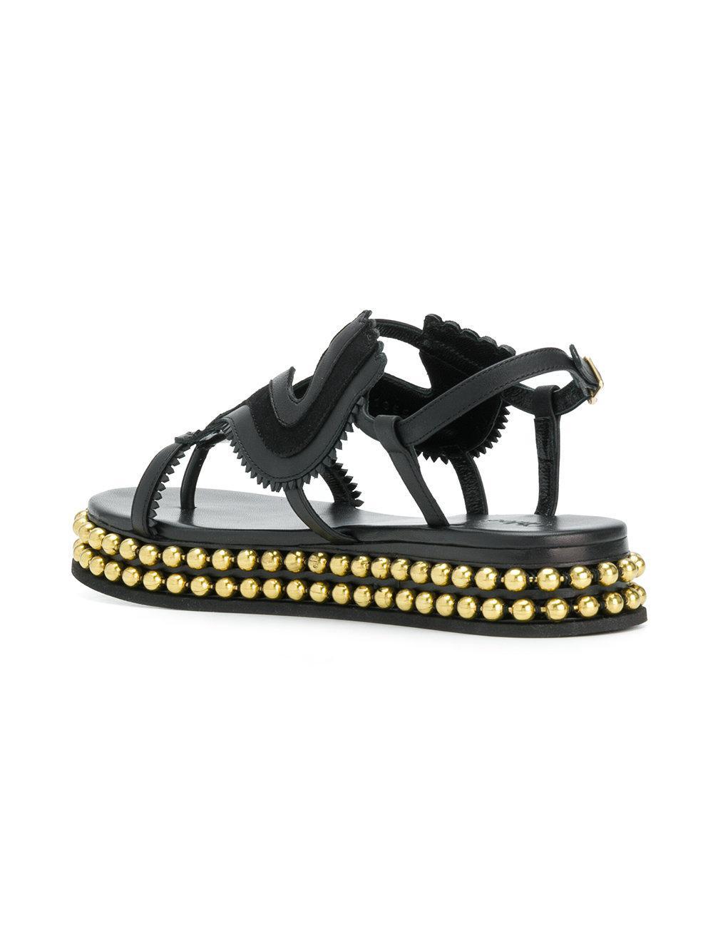 sale retailer b06c7 9dcdd chloe-Black-Almond-Toe-Studded-Sole-Sandals.jpeg