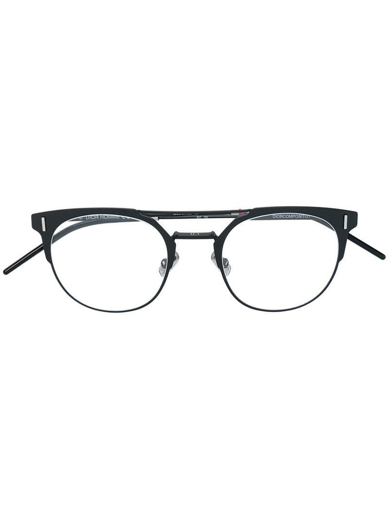 2d3d9d7f9bb88 Dior Composito 1 Glasses in Black for Men - Lyst
