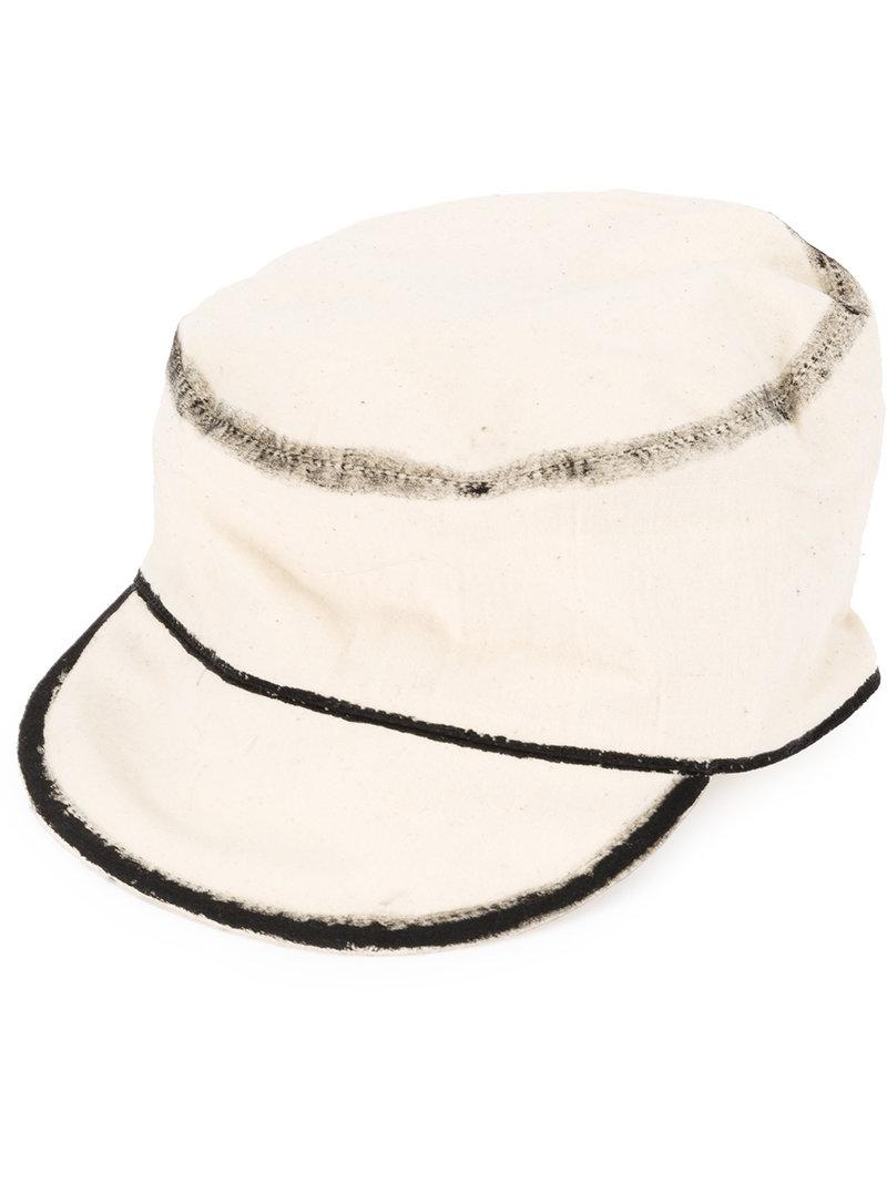 c9970900fc7 Toogood The Carpen Hat in White for Men - Lyst