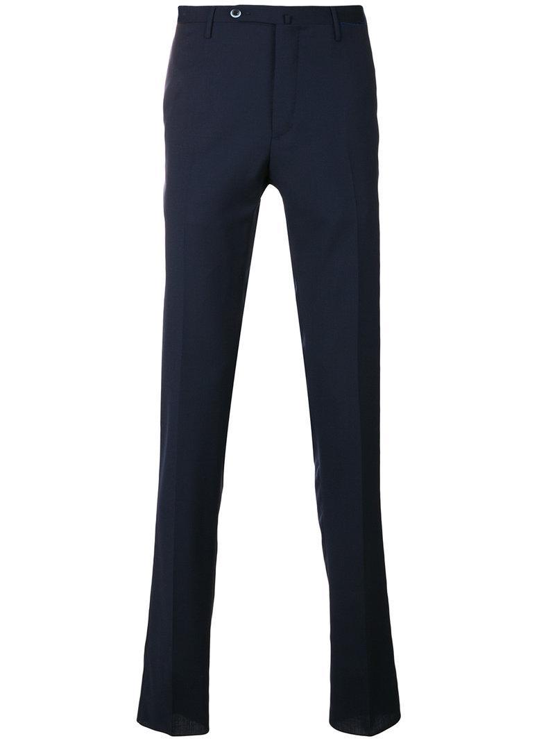 Pantalon Sur Mesure Mince - Gta Bleu aYdkEwntWA