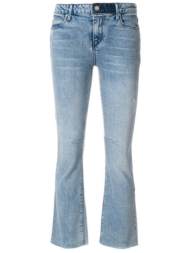 cropped flare jeans - Blue Rta Latest Sale Online EYhxp