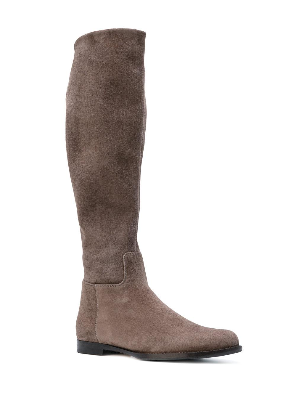 cut-out ankle boots - Brown Unützer DxmT67RnZV