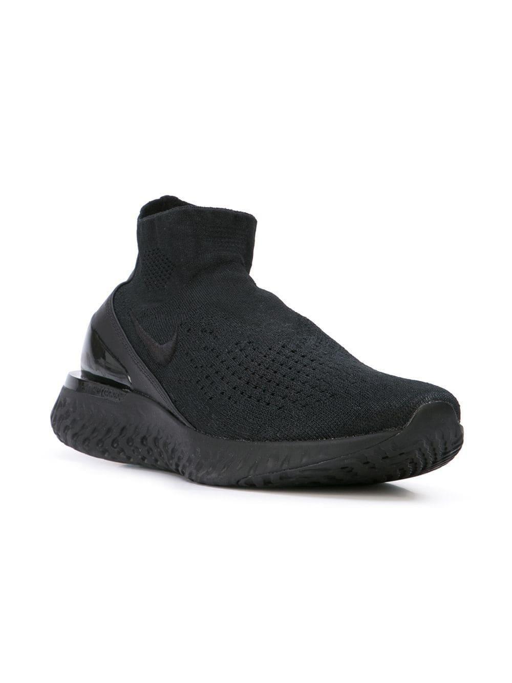 117c95d1bcd Nike Flyknit Sneakers in Black for Men - Save 11.555555555555557% - Lyst