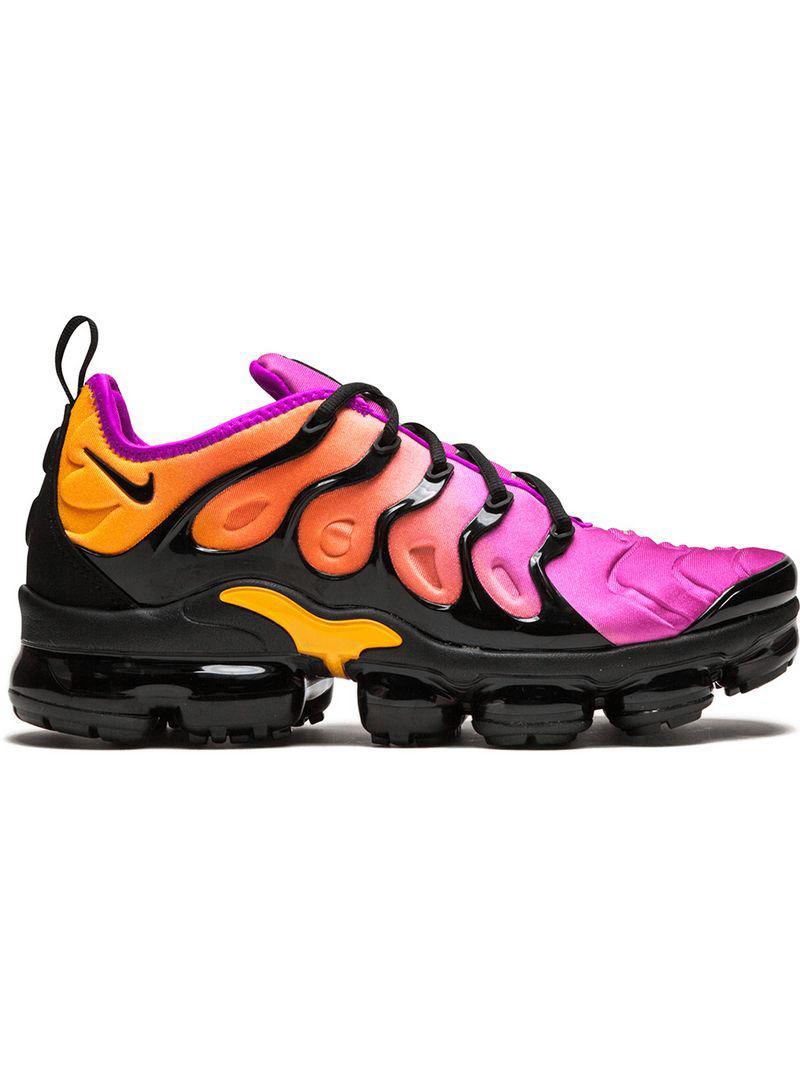 9a3ea54bd59c4 Nike Air Vapormax Plus Sneakers in Black - Lyst