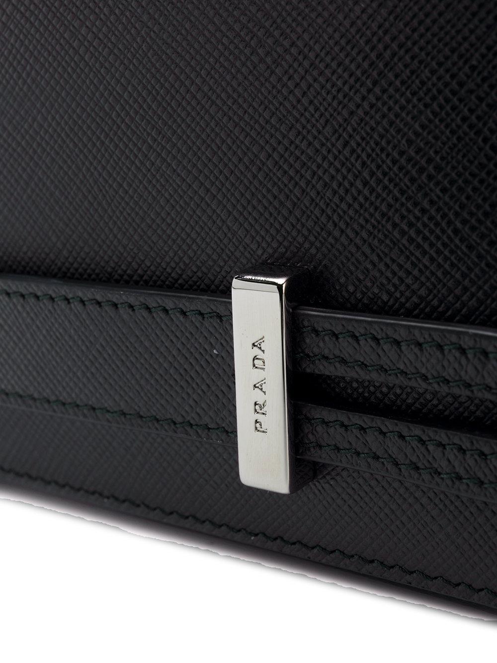 959eaed76625 Prada Hand-strap Clutch in Black for Men - Lyst