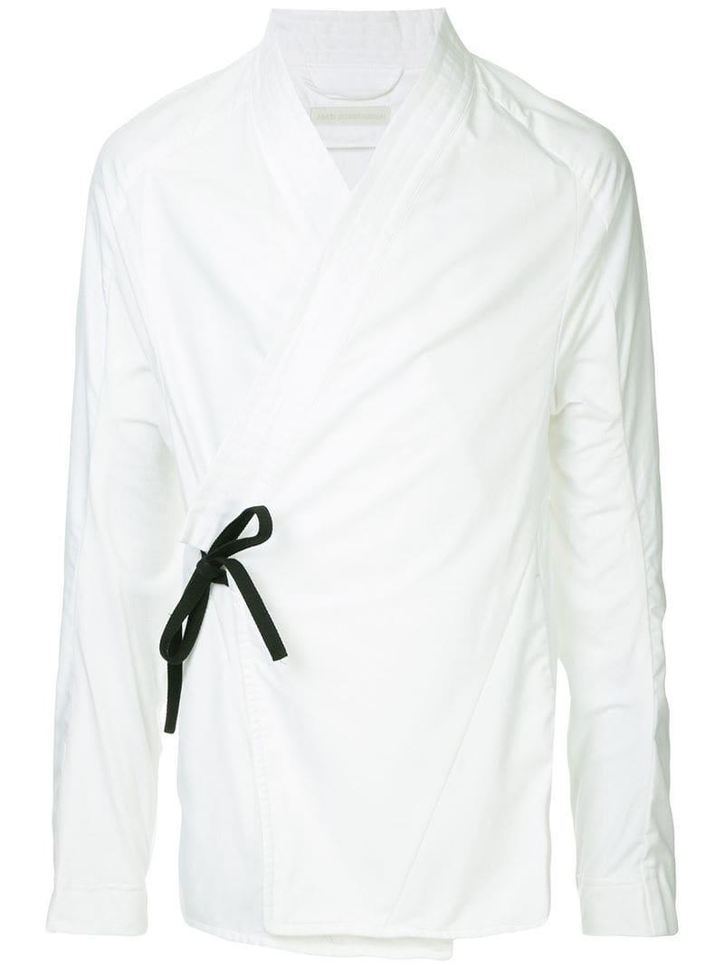 518a6afe Abasi Rosborough Arc Kimono Shirt in White for Men - Lyst