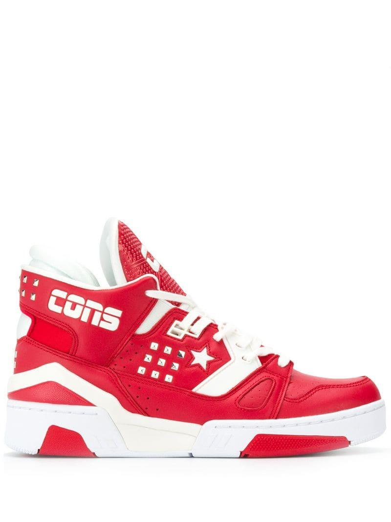 50b21b29120 Lyst - Converse Erx 260 Hi-top Sneakers in Red