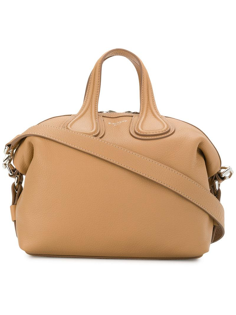 c80cbc7c881f Givenchy Small Nightingale Tote Bag in Natural - Lyst