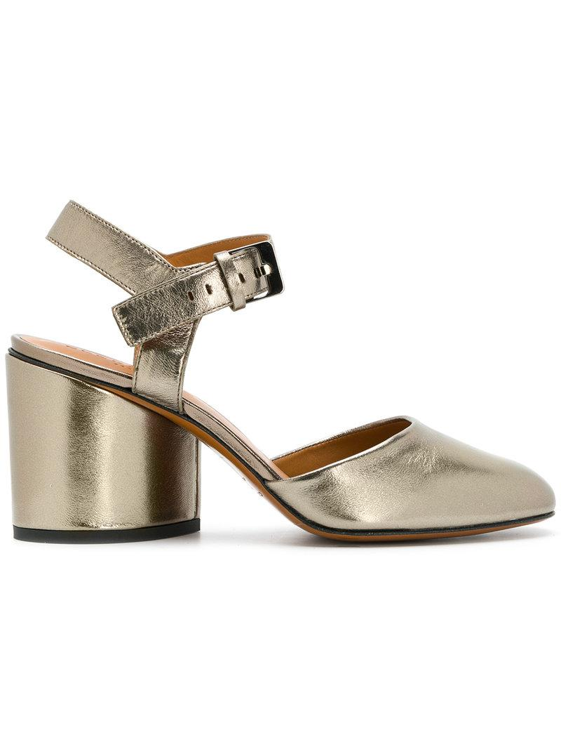 Kaby block heel sandals - Metallic Robert Clergerie PZrT9CfiQ