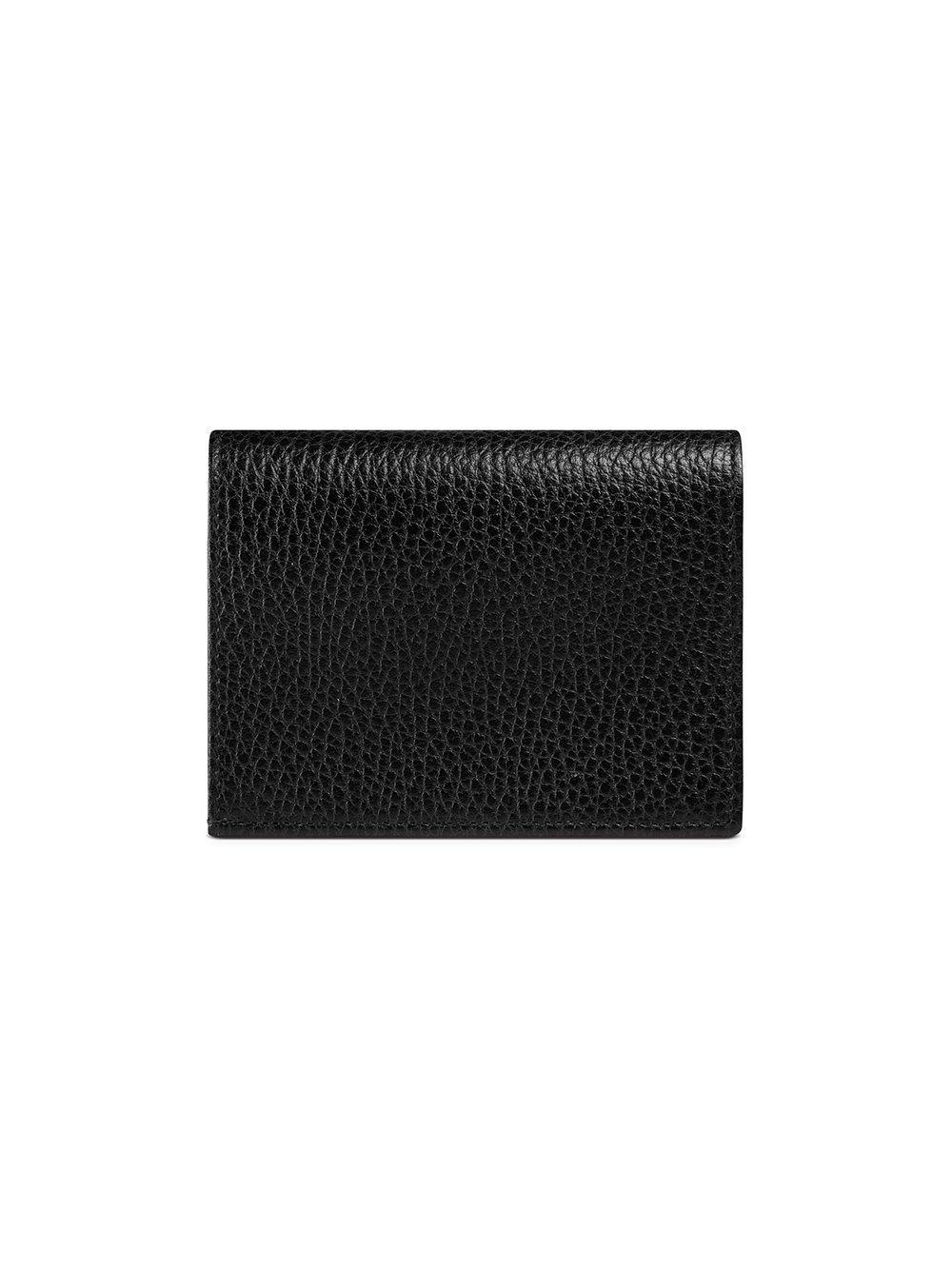 15d51e8e48d Lyst - Gucci Portacarte In Pelle in Black