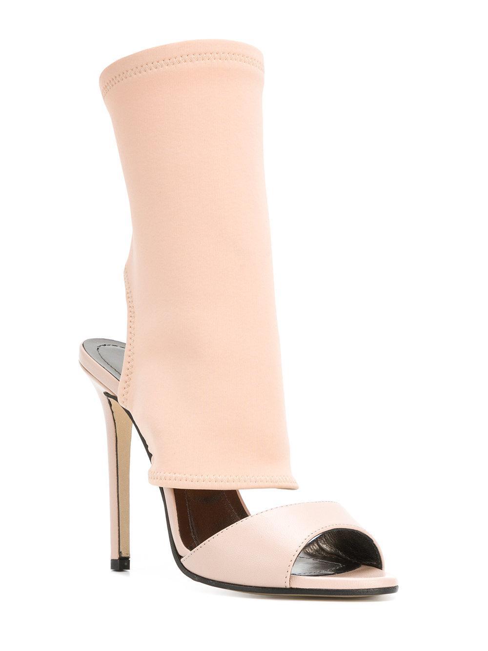 sock style cut out detail sandals - Nude & Neutrals Marc Ellis FTmdscSU5