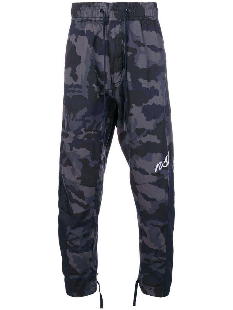 la mejor actitud construcción racional excepcional gama de estilos Nike Algodón Pantalones de chándal con motivo militar en ...