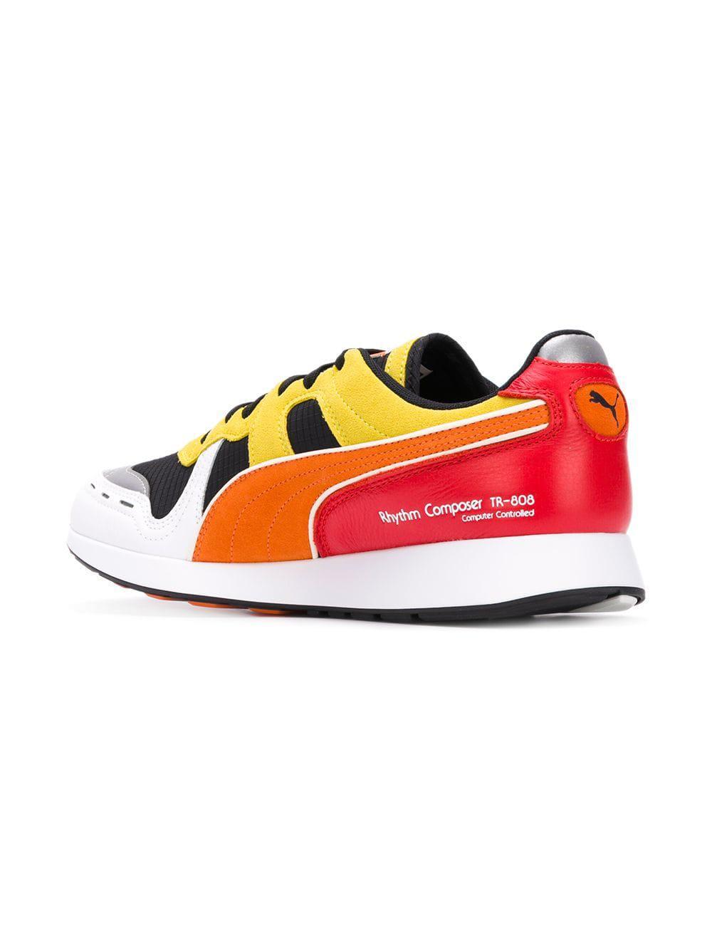 4f6eff7e6591f2 Puma Rs-100 Sneakers in Black for Men - Lyst