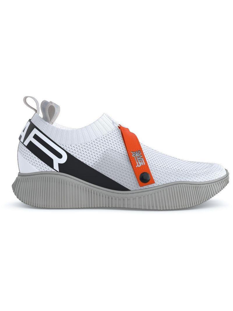 White In Knit Sneakers Lyst Swear Crosby 8xCvqv