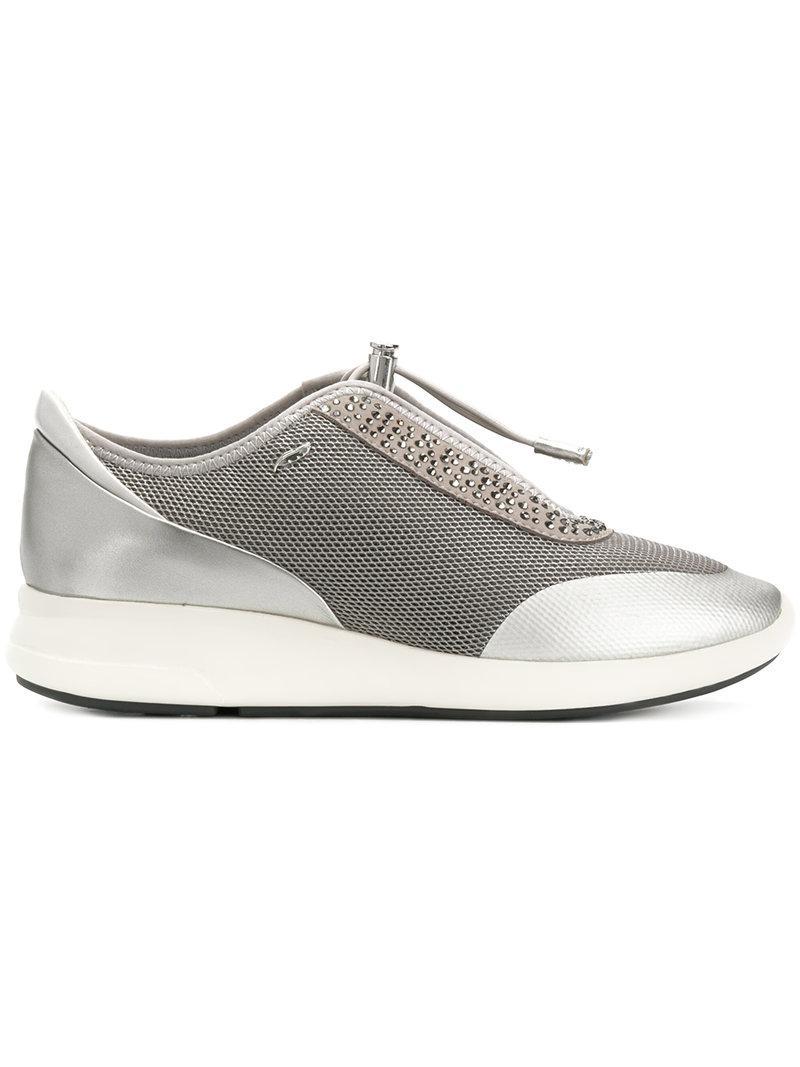 Geox Chaussures De Sport - Gris Ophira Qf3SX8X