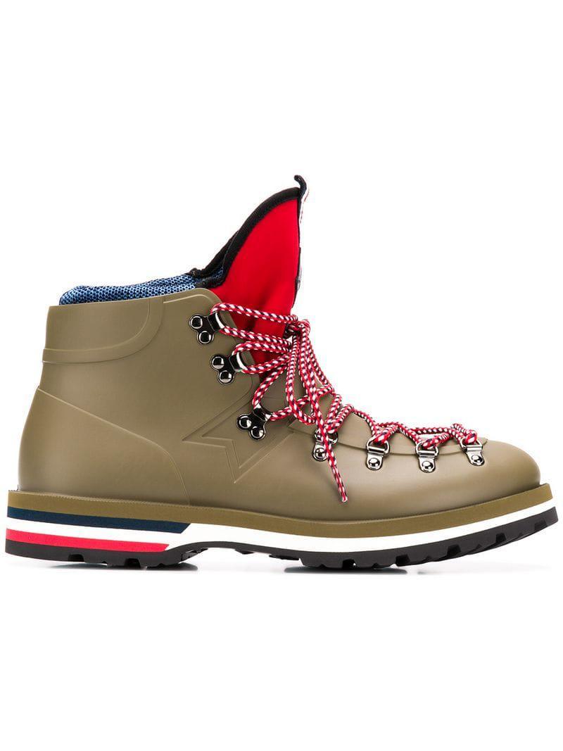 Chaussures Moncler De Homme En Pour Montagne Henoc Vert Lyst Coloris  WIx6wZqdq 65c405065e9