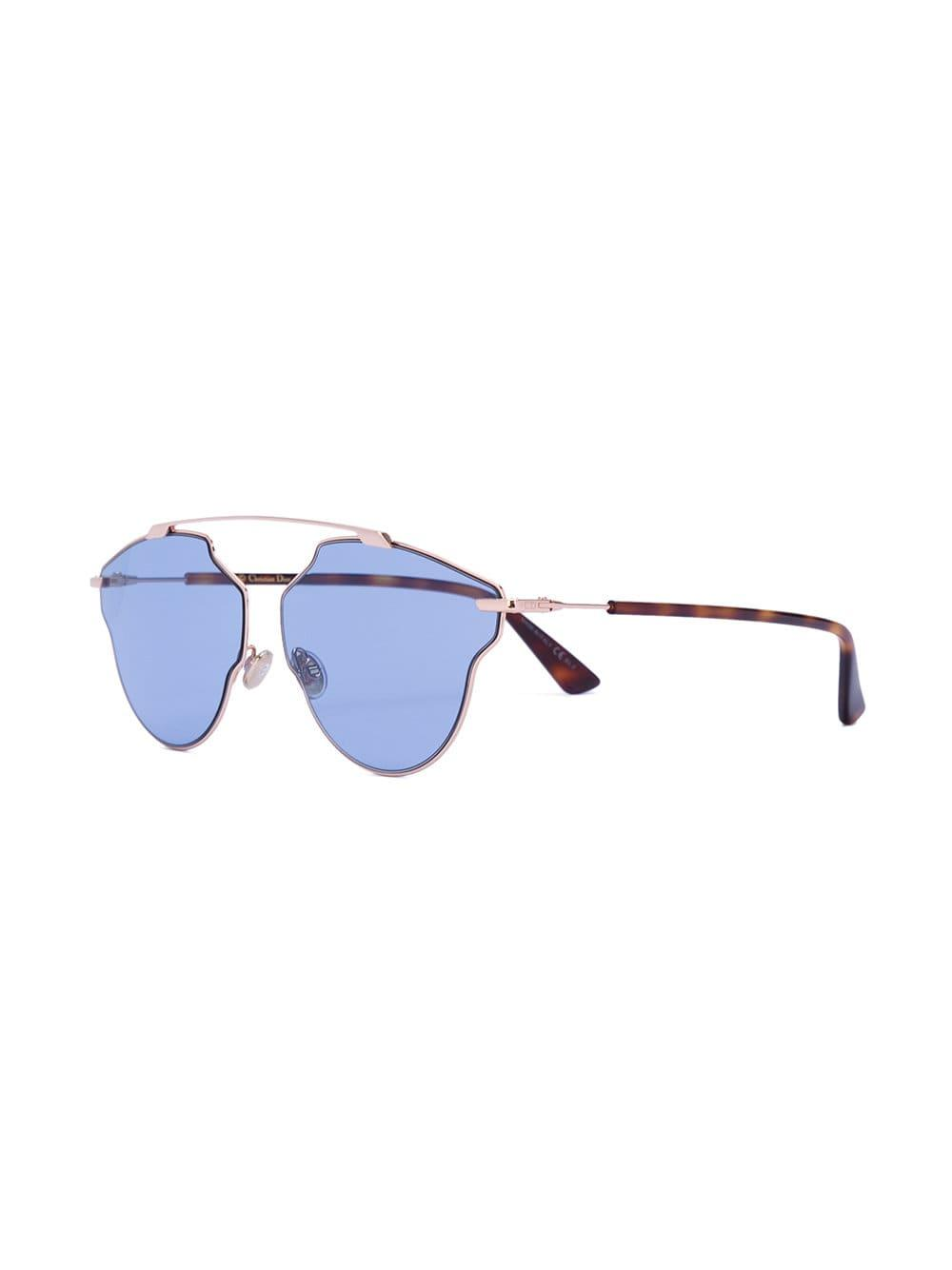 707535c677c Dior So Real Pop Sunglasses in Yellow - Lyst