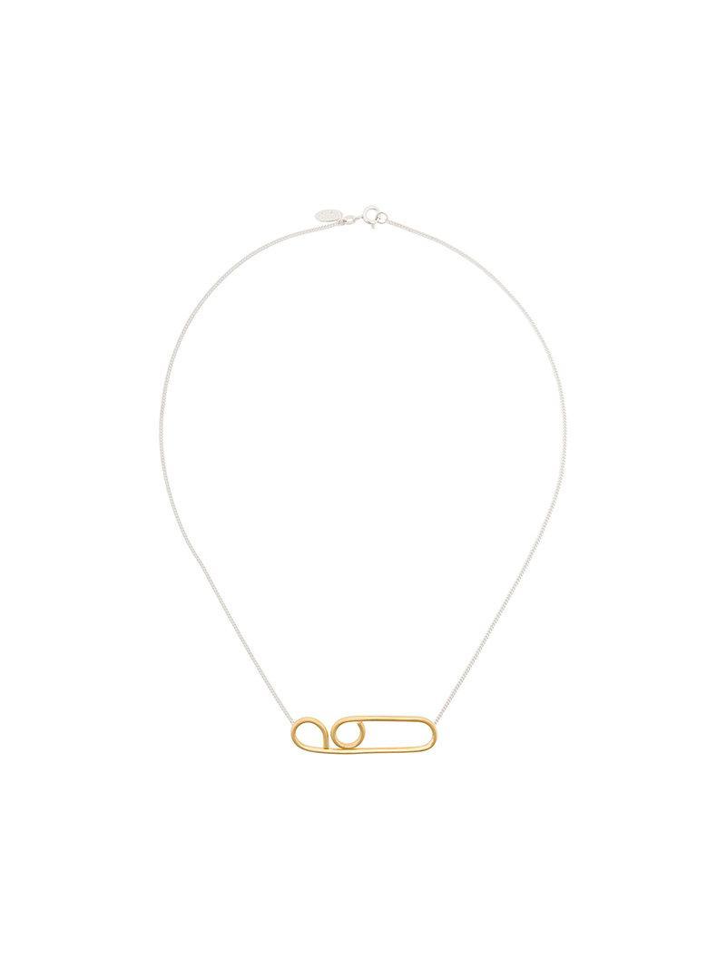 Wouters & Hendrix Technofossils necklace - Metallic DOA0wvb