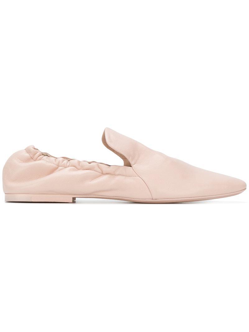 Jil Sander Pointed toe loafers Enjoy Cheap Great Deals Classic Sale Online Discount Latest Sale Shopping Online tIlFw