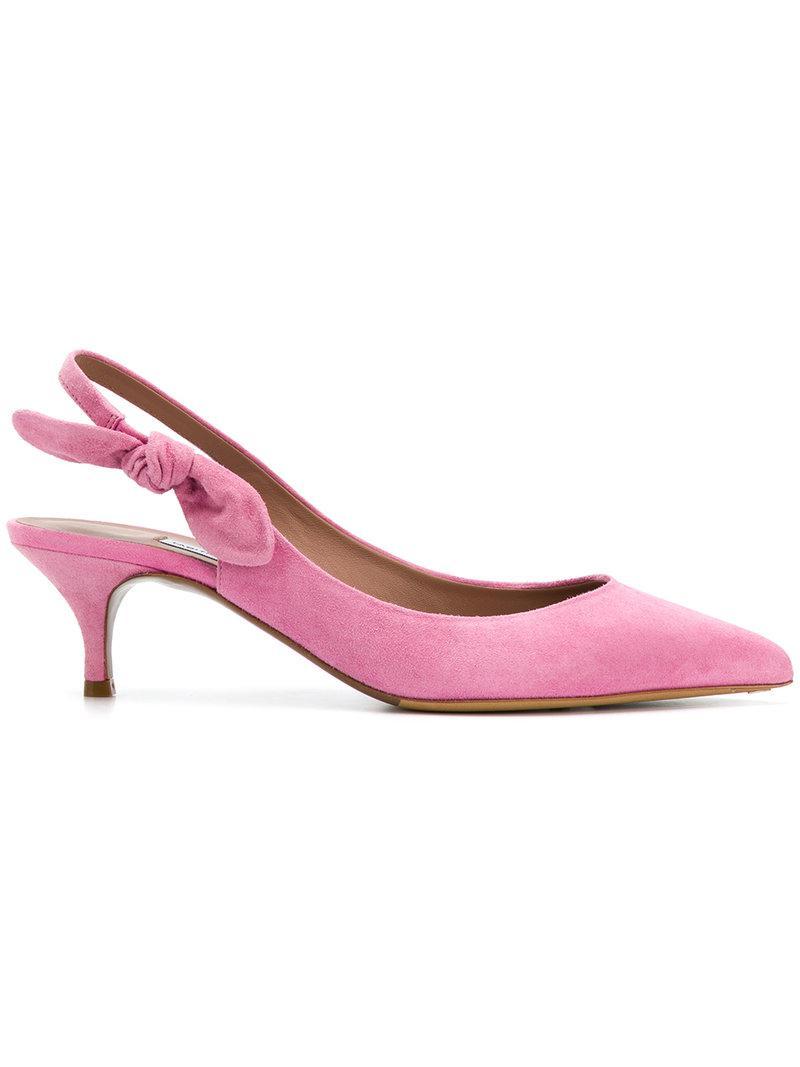 Tabitha Simmons side bow detail pumps - Pink & Purple farfetch rosa De Salida Con Tarjeta De Crédito Ubicaciones De Los Centros Envío Libre Comprar En Línea De Alta Calidad zfNr02