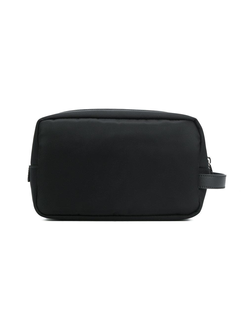 755d526ae724 Fendi Zipped Wash Bag in Black for Men - Lyst