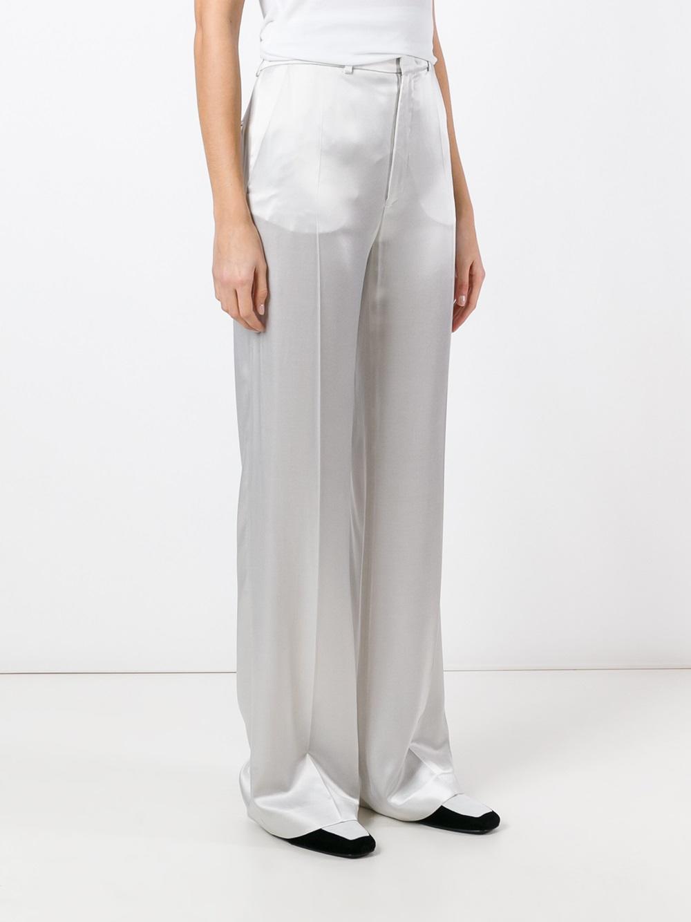 tailored trousers - Metallic Joseph tiAhcTf2Fe