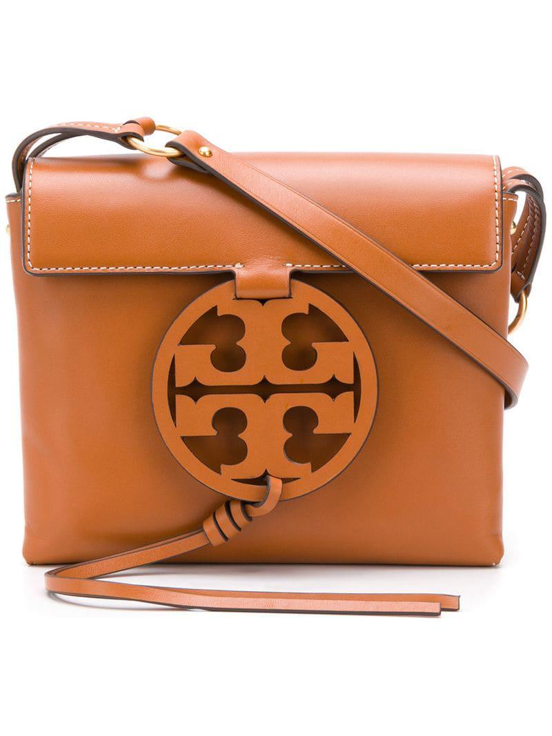 831975d62fc0 Lyst - Tory Burch Miller Crossbody Bag in Brown - Save 3%