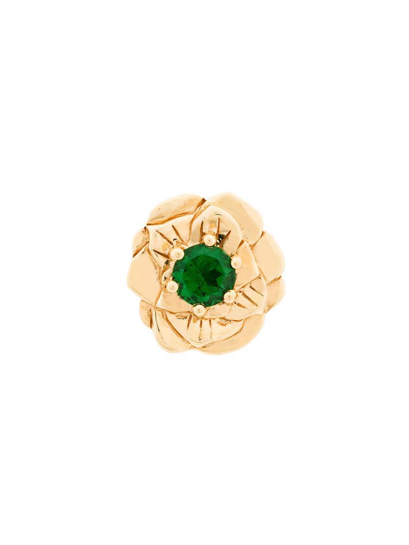Aurélie Bidermann 18kt yellow gold Bouquet ring - Metallic XVaPu
