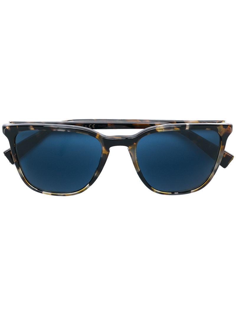 Lyst - Lunettes de soleil à monture carrée Dolce   Gabbana pour ... 2f69e15dd221