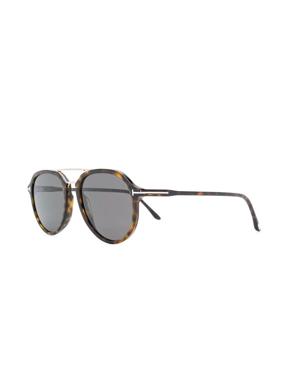 4dbd6c6258 Lyst - Tom Ford Tortoiseshell Sunglasses in Brown for Men