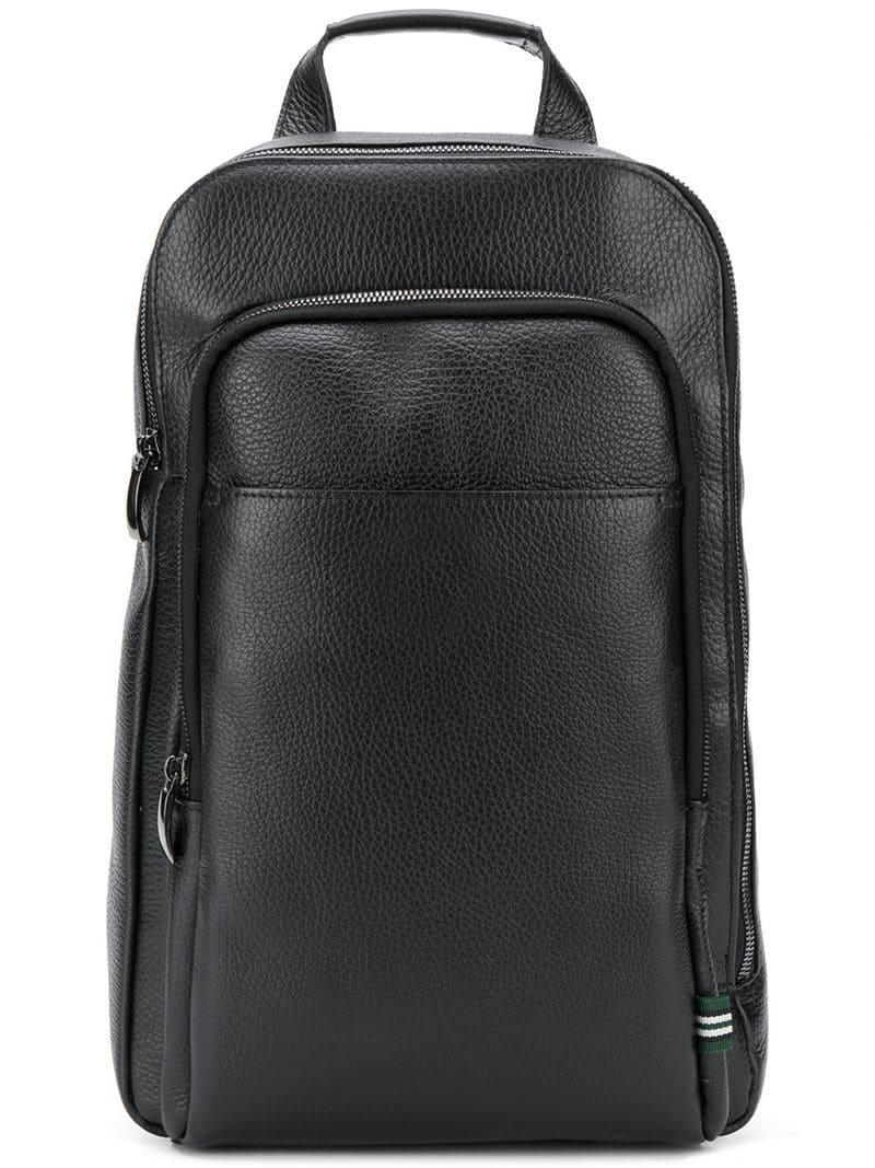 2d85a76b37f8 Lyst - Green George Cross-body Backpack in Black for Men