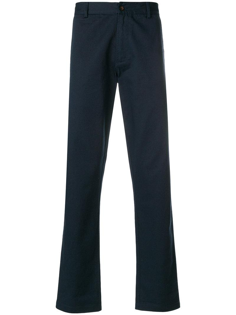 Aston straight leg trousers - Blue Universal Works 0XVtEZQTM