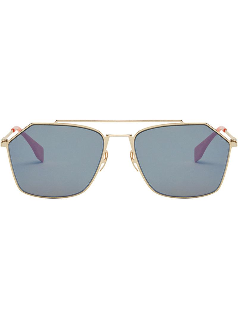 Fendi Air sunglasses - Metallic Fendi TWsT9m